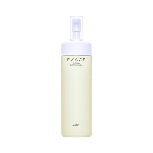 Albion-EXAGE-WHITE-Clearly-Cleansing-Oil