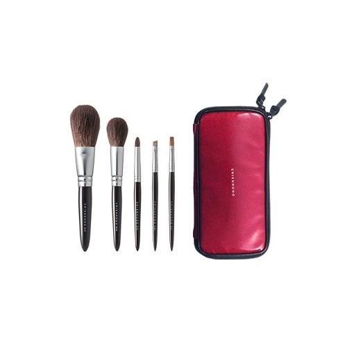 R Set 5 Pink Bag Black Handle