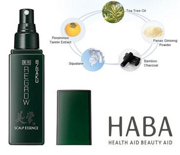HABA Skincare Line for Men