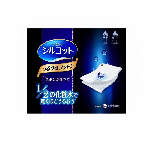 Unicharm-Silcot-Sponge-Touch-Moisturizing-Cotton